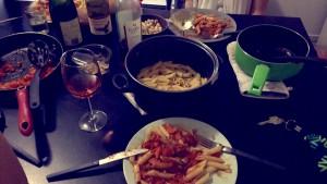 Eten koken in Aussie!